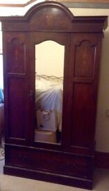 Characterful antique wardrobe