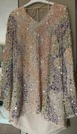 Sequin River Island Dress