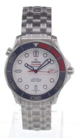 "Omega Seamaster Professional ""Commanders Watch"" 212.32.41.20.04001 007 limited edition"