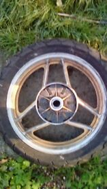 Suzuki gsx1100efe rear wheel