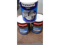 masonary paint white 3x 5litres £30 the lot no offers smooth white bristol area