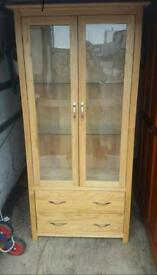 Stunning quality cabinet display unit