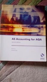 AS Accounting for AQA book