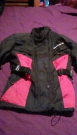 Textile jacket for 12 to 14 year old