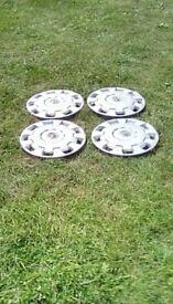 Set of 4 wheeltrims, used, £5.