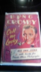 Book ofBing Crosby call me lucky 1953 book 1st edition