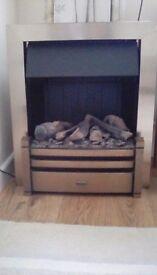Duplex Optiflame inset 2kw fire