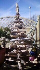 Six foot driftwood tree.
