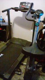 Bike and running machine