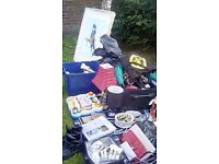 Car boot sale items