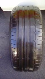 225/45/17 tyre fitted bristol area x1 tyre good tread