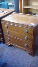Chest Of 3 Drawers #27208 £45