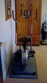 DTX Fitness exercise bike/air walker