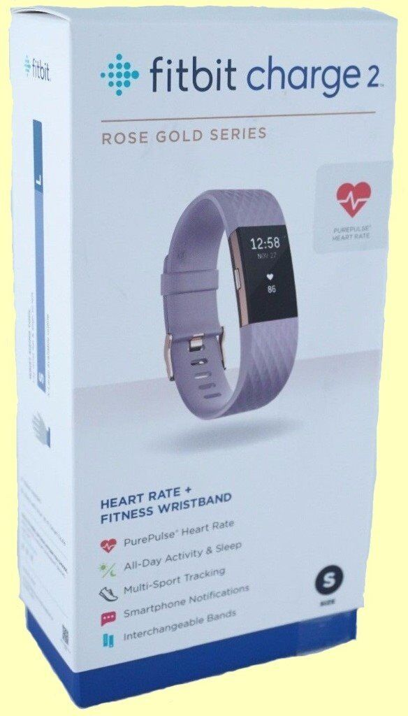 Fitbit Charge 2 - Rose Gold Special Edition - Brand New In Box - £120