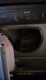 Condensed air tumble dryer silver 60mm wide