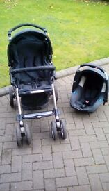 PUSHCHAIR WITH CARRIER, JANE TRAVEL SYSTEM
