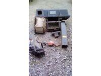 Kubota mower collector