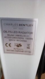Electric oil filled heater by Charles Bentley. Only used a couple of times & in very good codition