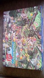 Gardening jigsaw puzzle