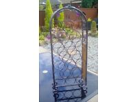 Metal Free Standing Wine Rack