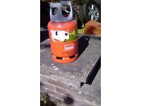 Calor gas lightweight 6kg gas botle.