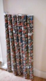 Spiderman xmas wrapping paper