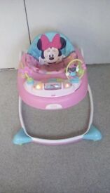 Disney Minnie Mouse Baby Walker.