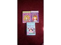 3 used paper back Jacqueline Wilson books