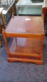 Square Occasional Table With Drawer #30244 £10