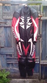 For sale Hein Gericke alien race tec one piece leather suit very good condition. Size uk 40 £175 ono