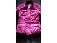 Next girls quilted coat age 13 - 14.