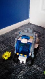 Fisher Price Imaginext Space Hauler vehicle