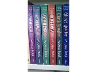 Set of Chronicles of Ancient Darkness books by Michelle Paver