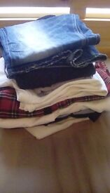 Mens bundle of clothes **TOP BRANDS** ted baker/religion/levis etc