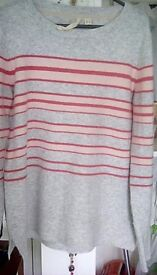 Lovely whitestuff striped jumper