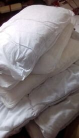 Duvets and Bed sheets
