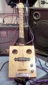 Cigar box guitar £80 ono open to offers