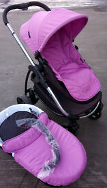 Icandy Strawberry Travel System in Raspberry