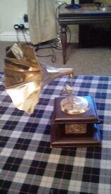 Gramophone ornament