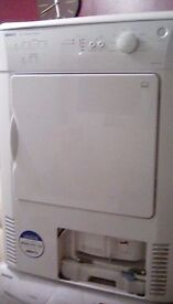 7kg weight load condencer dryer