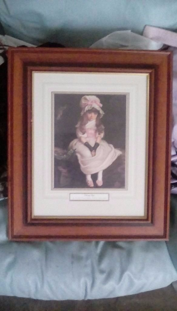 Two Framed Paintings / Prints by by Sir John Everett Millais, P.R.A. (1829-1896)