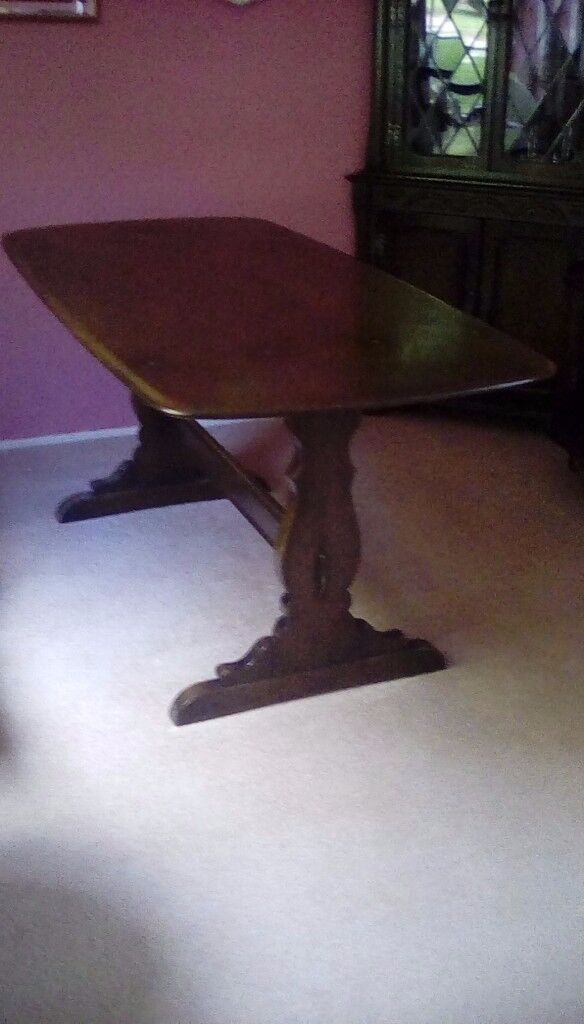 Ercol 6 Seater Refrectory Table