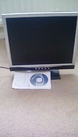 17inch flat monitor