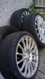 X3 wheels / Tyres and alloys.