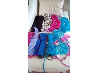 Bikini tops and bottoms