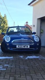 £2500 ONO!! 2007 Mini One Convertible 73998 miles