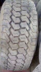 Michelin. 445/65r19.5 15 mil plus on a rim many more sizes avalible