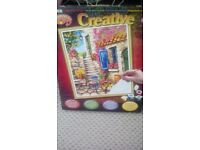 Creative painting by numbers, in sealed box