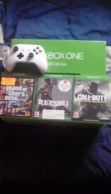 Xbox One *NOT One S* with 3 games and White controller Need Gone Asap