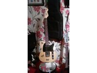 Vintage , Telecaster , Natural !! With gig bag ,, one small ding , good condition !! Plays great !!